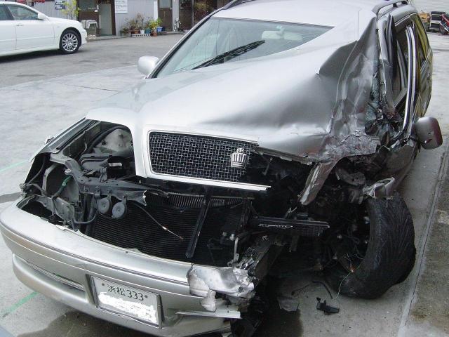 事故による車両の買取 1