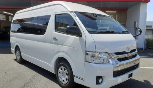 【登録済未使用車】トヨタ ハイエース キャンピングカー FFヒーター・ソーラー発電・走行充電・外部充電